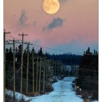 Atlin Moon