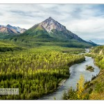 King Mountain, Matanuska River, AK