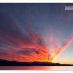 Sunset Little Atlin Lake